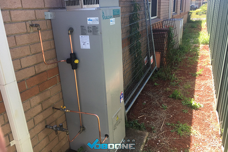 hot water service glenmore park